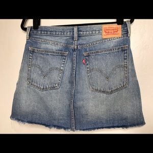 LEVI'S  factory distressed frayed ripped 30